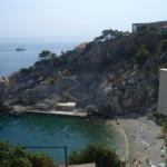 Caletta nel centro di Dubrovnik